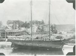 The schooner Victory, Hampden, circa 1898
