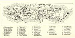 Warren Survey Map, Islesboro, from a ca. 1799 map