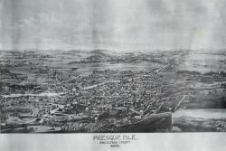 Map of Presque Isle, ca. 1870