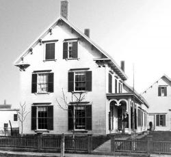 Edward W. Robinson House, Knox Street, Thomaston, Maine c. 1870