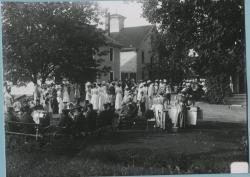 Benefit party for the Wardwell Home, Saco, 1912