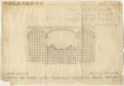 Garden gate sketch, Portland, 1924