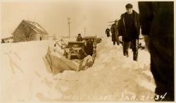 Blizzard, Lubec, January 21, 1934
