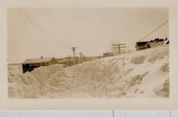 Blizzard, Lubec, 1934