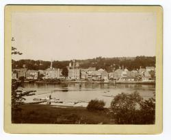 Hallowell viewed from Butternut Park, Chelsea, ca. 1890