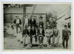 Hallowell Granite Works carvers, ca. 1895