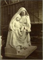 Maternity, Hallowell Granite Works, ca. 1895