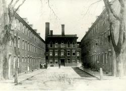 Laconia Mills boarding houses, Biddeford, ca. 1895