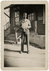 Cpl. Herbert Windom, North Yarmouth, 1942