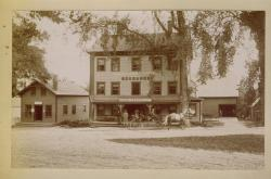 Copper and Gold Exchange, Blue Hill, ca. 1900