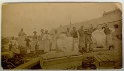 Chase Granite Quarry, East Blue Hill, ca. 1895