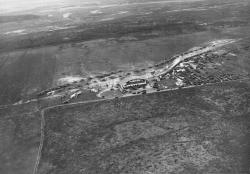 Aerial View of Portland Airport in Scarborough, ca. 1927