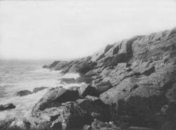 Rocky Cliff at Prouts Neck, ca. 1940