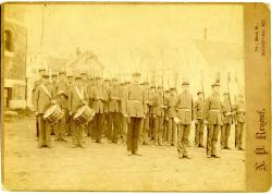 Biddeford High School Cadets, ca. 1897