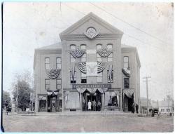 French & Elliott Company, Masonic Hall, Odd Fellows Hall, Guilford, 1916