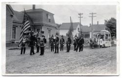 Guilford Centennial Parade, South Main Street, 1916