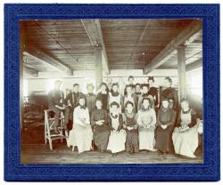 Guilford Woolen Mill Finishing Room Crew, ca, 1890