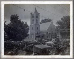 Universalist Church Centennial, Guilford, 1916