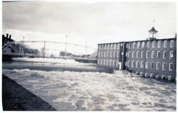 Flood and Steel Bridge, Guilford, 1936