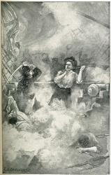 Hand-to-hand battle on 'Margaretta,' Machias
