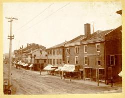 West Side, Water Street, Hallowell, ca. 1900