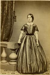 Lydia Swan McArthur, wife of Robert McArthur, 1861