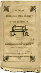 Journal of the American Silk Society, Baltimore, 1840