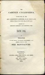 Cabinet Clyclopaedia, London, 1831