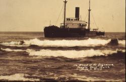 Wreck of the Sagamore, January 14, 1934