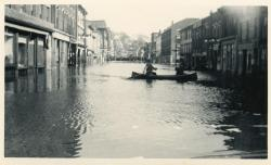 Flood, Water Street, Hallowell, 1936