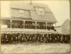 Board of Trade clam bake, Biddeford Pool, 1903