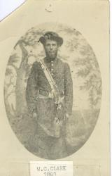 W. C. Clark of the 18th Maine, 1861