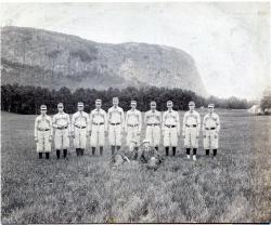 Guilford Baseball Team at Kineo, Aug. 29, 1895