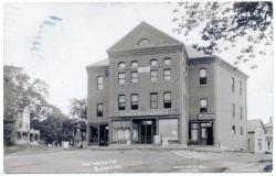 Odd Fellows Hall and French & Elliott Store, ca. 1916