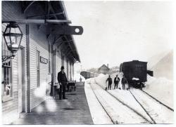 Train Depot, Guilford , ca. 1896