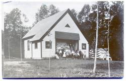 Guilford Center Schoolhouse, ca. 1895