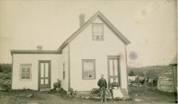 Mr. and Mrs. Butler's house, Blue Hill, ca. 1890