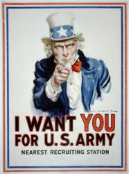 I want you for U.S. Army / James Montgomery Flagg.