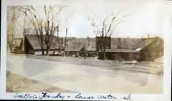 Fuller Foundry, Milliken's Crossing, Hallowell, ca. 1933
