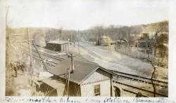 Milliken's Crossing, Looking north on Water Street, Hallowell, ca. 1933