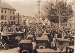 Unveiling of World War I Statue, Lincoln, 1926