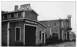 McCann Fire Truck Manufacturing Shop, ca. 1949