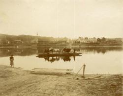 Lincoln Center Ferry, ca. 1910