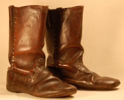 Civil War boots, ca. 1864