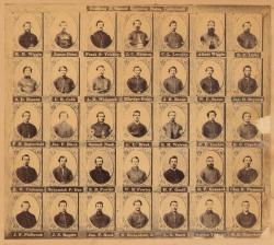 Company A, Second Regiment, Maine Volunteers, 1861