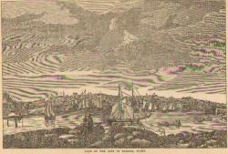 View of the City of Bangor, 1837
