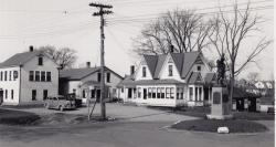 Telephone operator's building, Lincoln, ca. 1940