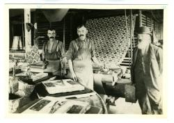 Workers in Wiler's Oil Cloth Factory.