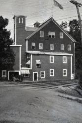 Boston Flint Company sandpaper mill beside Vaughan Brook.