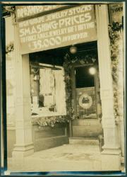 Waterman Jewelry Store, Portland, ca. 1920